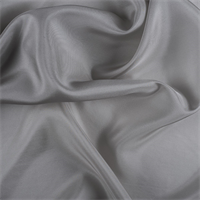 Light Gray Silk Habotai