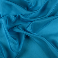 Turquoise Silk Habotai
