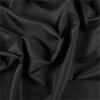 Black Silk Habotai