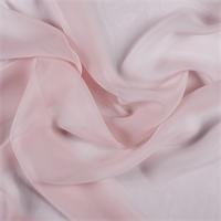 Blush Pink Silk Chiffon