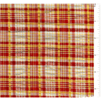 *2 3/4 YD PC--Plaid Seersucker
