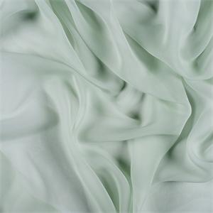 Sage Green Silk Chiffon 5000m129 Discount Fabrics