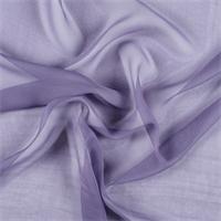 Amethyst Silk Chiffon