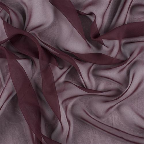 Fabric By The Yard Wine Silk Charmeuse