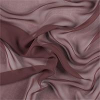 Rust Silk Chiffon