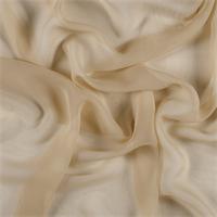 Gold Silk Chiffon
