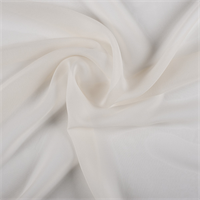 Soft Yellow Wide Silk Chiffon