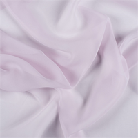 Light Orchid Wide Silk Chiffon