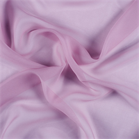 Rose Pink Wide Silk Chiffon