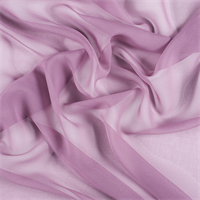Mauve Wide Silk Chiffon
