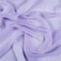 Lilac Wide Silk Chiffon