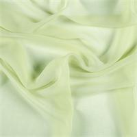 Peridot Wide Silk Chiffon