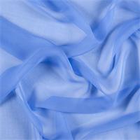 Periwinkle Wide Silk Chiffon