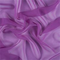 Magenta Wide Silk Chiffon