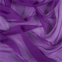 Grape Wide Silk Chiffon