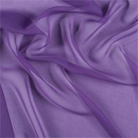 Violet Wide Silk Chiffon