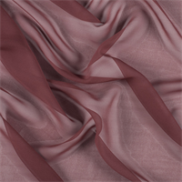 Copper Wide Silk Chiffon