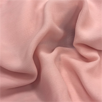 Blush Pink Crinkled Silk Chiffon