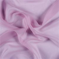 Rose Pink Crinkled Silk Chiffon