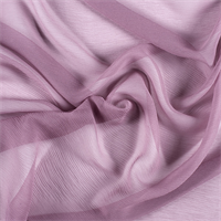 Mauve Silk Double Georgette