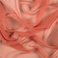 Tangerine Silk Double Georgette