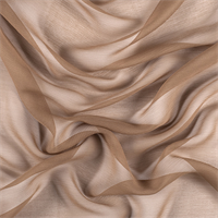 Mocha Silk Double Georgette