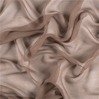 Latte Silk Double Georgette