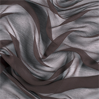 Espresso Silk Double Georgette
