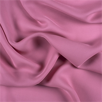 Carnation Pink Silk Double Georgette