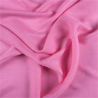 Hot Pink Silk Double Georgette