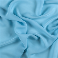 Aqua Silk Double Georgette