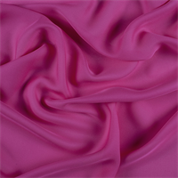 Magenta Silk Double Georgette