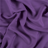 Violet Silk Double Georgette