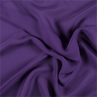 Purple Silk Double Georgette