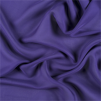 Dark Purple Silk Double Georgette