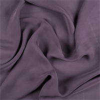 Aubergine Silk Double Georgette