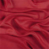 Dark Red Silk Double Georgette
