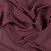 Wine Silk Double Georgette