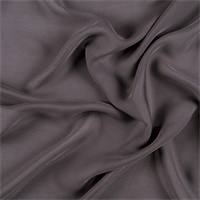 Dark Gray Silk Double Georgette