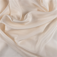 Cream Silk Habotai