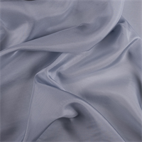 Steel Blue Silk Habotai