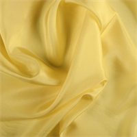 Bright Yellow Silk Habotai