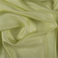 Light Lime Silk Habotai
