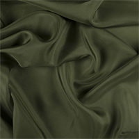 Grass Green Silk Habotai