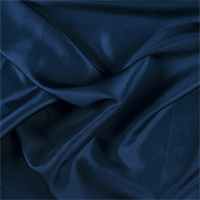 Dark Blue Silk Habotai