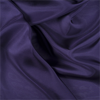 Dark Purple Silk Habotai
