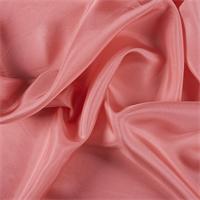 Coral Silk Habotai