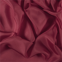 Bright Red Silk Habotai