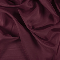 Dark Red Silk Habotai
