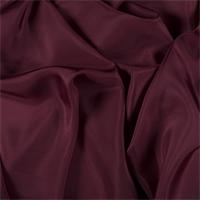 Burgundy Silk Habotai